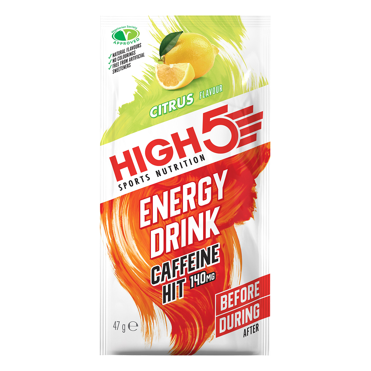 High5 Energy Drink Caffene HIT (EnergySource X'treme) 47g