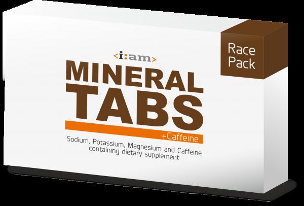 i:am MINERAL TABS Sótabletta + Caffeine Race Pack