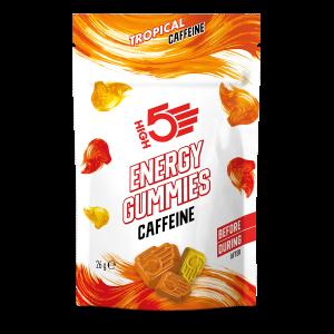 High5 Energy Gummies Caffeine Tropical 26g (6db)