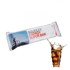 SQUEEZY ENERGY SUPER BAR energiaszelet koffeinnel