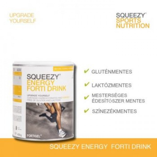 SQUEEZY ENERGY FORTI DRINK 400g