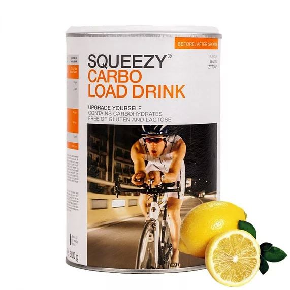 SQUEEZY Carbo Load Drink sportital 500g
