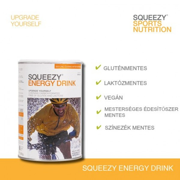 SQUEEZY Energy Drink sportital 50g
