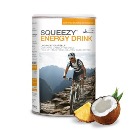 SQUEEZY Energy Drink sportital 500g Kókusz / Ananász