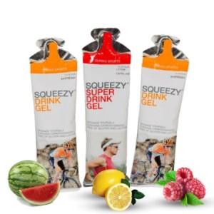SQUEEZY DRINK GEL 60 ml 3-as Teszt csomag