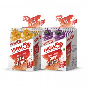 High5 Slow Release Energy Gel 14x62g