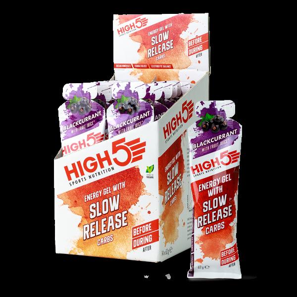 High5 Slow Release Energy Gel 14x62g