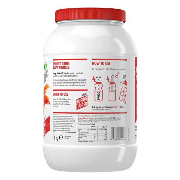 High5 Energy Drink with Protein (EnergySource 4:1) 1600g