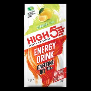 High5 Energy Drink Caffene HIT (EnergySource X'treme) 12x47g
