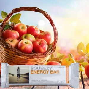 SQUEEZY ENERGY BAR – energia szelet alma ízben