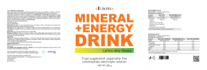 i:am MINERAL + ENERGY DRINK 800g