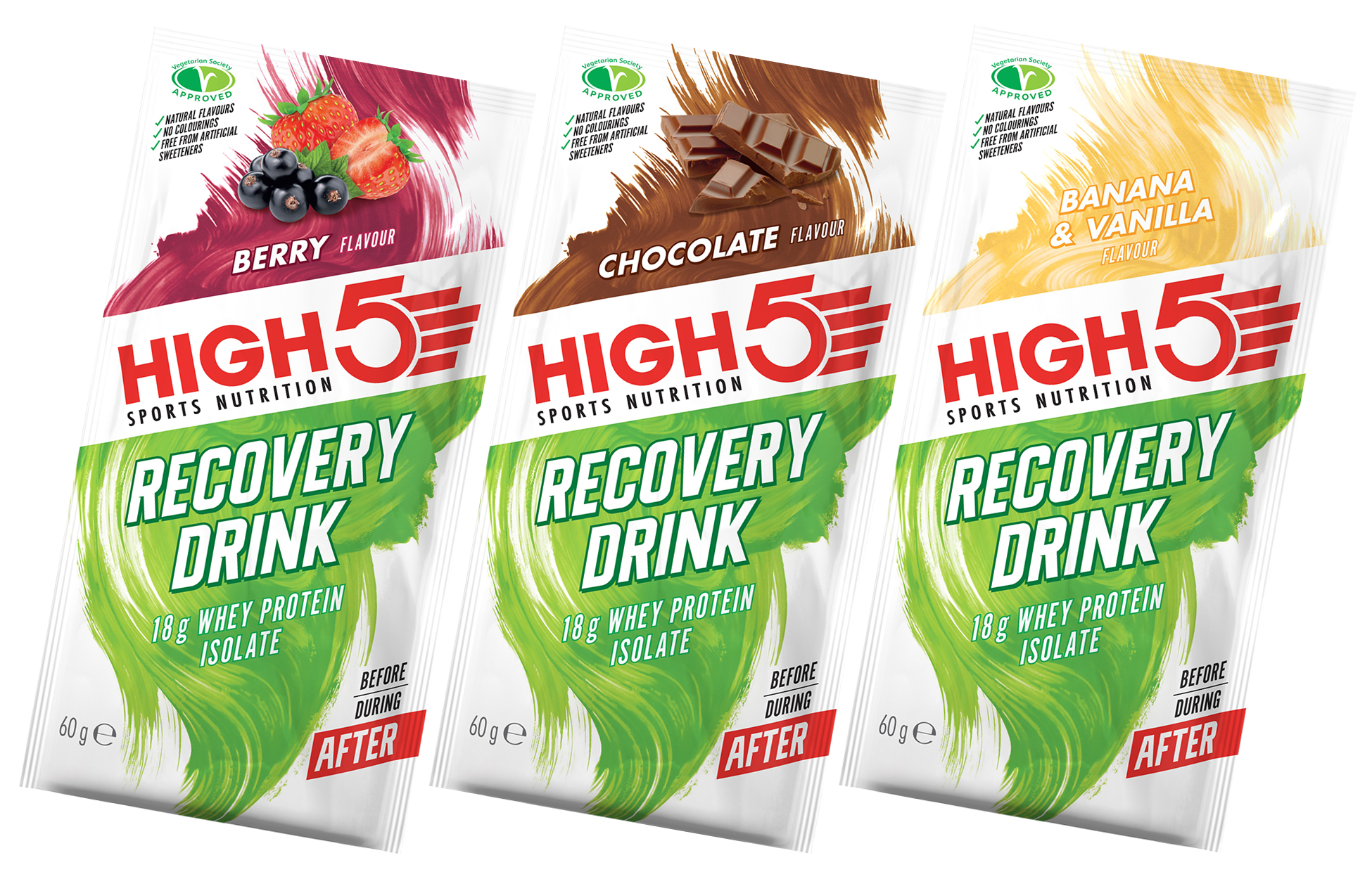 High5 Recovery Drink (Protein Recovery) 60g
