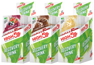 High5 Recovery Drink (Protein Recovery) 9x60g