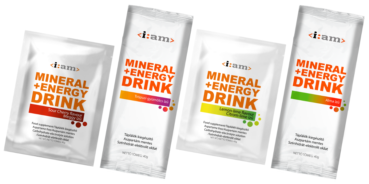 i:am MINERAL + ENERGY DRINK 40g