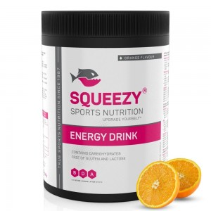 SQUEEZY Energy Drink sportital 650g Narancs
