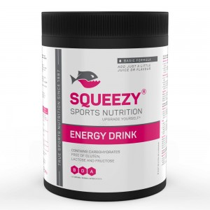 SQUEEZY Energy Drink sportital 650g Basic (Ízesítetlen)